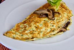 Omelete Shitake