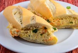 Sanduiche Salada de Frango