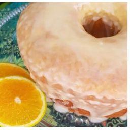Bolo de laranja ( fatia)