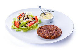 Falafel Vegano no Prato