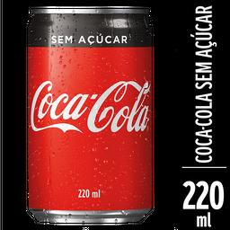 Coca-Cola sem Açúcar 220ml