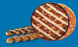 Pizza Pan ou Tradicional  + Sobremesa  RAPPIPS