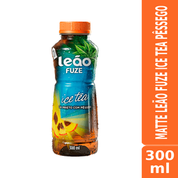 Matte Leão Fuze Ice Tea Pêssego 300ml