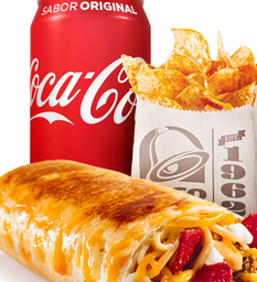 Combo Grilled Cheese Burrito
