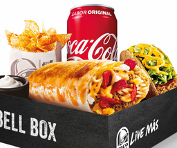 Bell Box Grilled Cheese Burrito