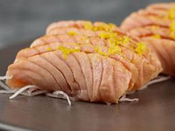 Sashimi de Salmão Brulee