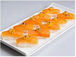 Sushi Gengibre e Gergelim
