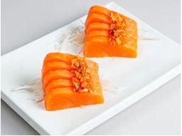 Sashimi de Steelhead Salmon Sweet Chilli Crocante