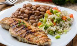 Compre 1 e leve 2: Filé de frango + suflê de legumes
