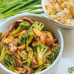 Carne com Brócolis - Indv