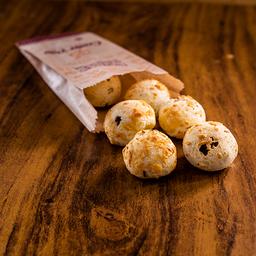 Pão de Queijo com Carne de Sol - Porção 5 Unidades