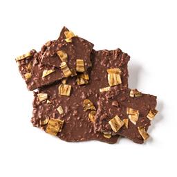 Chocolate quebra-quebra banana e castanha de caju - 100g