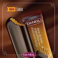 Doce de leite com chocolate belga - picolé gourmet 80g