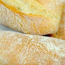 Pão ciabata unidade