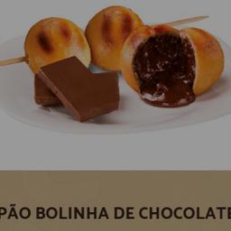 Pão Bolinha de Chocolate