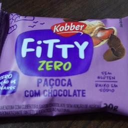 Snack Kobber 20g - Paçoca com Chocolate