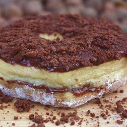 Mini Donuts de Ovomaltine