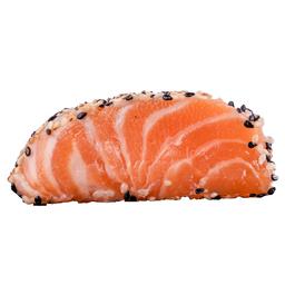 Sashimi Salmão na Crosta de Gergelim (10 Peças)