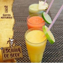 Suco Natural com Leite de Morango - 300ml