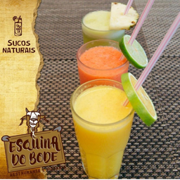 Suco Natural com Leite de Abacaxi com Hortelã - 300ml
