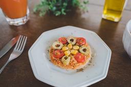 Pizza Integral Vegana à Moda(congelado)