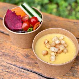 Combo Salada + Sopa