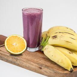 Vitamina de Açaí com Laranja e Banana 500ml