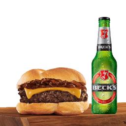 Compre um Hambúrguer de Wagyu e ganhe uma Beck's