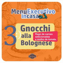 Combo 3 - Gnocchi alla Bolognese