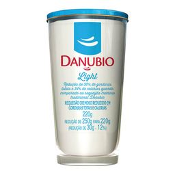 Requeijão Light 220g Danubio