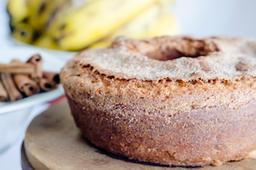 Bolo De Banana Com Canela - Sem Lactose