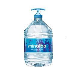 Agua mineral s/gas 5l minalba