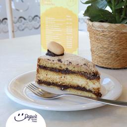 Torta de Ameixa - Fatia