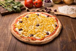 Pizza Grande Milho Com Mussarela