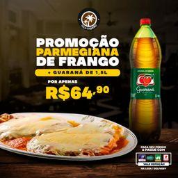 Parmegiana para 2 Pessoas + Guaraná 1,5