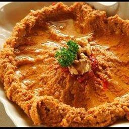 Muhammara - Pasta de Tomate com Pimenta e Nozes - Vegana