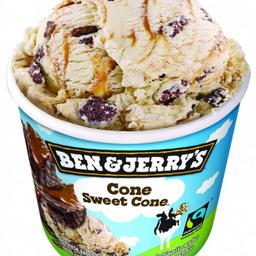 Sorvete Ben&Jerry`s Cone Sweet Cone