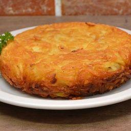 Batata Suiça Carne Seca, Cebola e Cheese