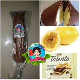 Sacolé de Torta de Maracujá