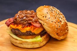 2 The Fine Burger e Batatas Fritas