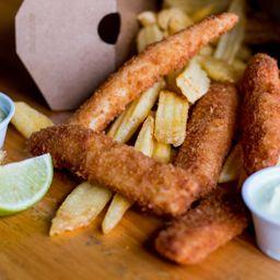 Novidade! Krok Fish & Chips (Mais Pedidos)