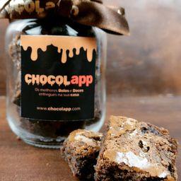Dadinhos de Brownie Gourmet No Pote - Vidro 267ml