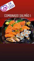 Combinado salmão  1 -  ( 32 peças )  -  grátis:  1  shimeji  e