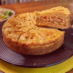 Torta de frango média 1 kg aprox.