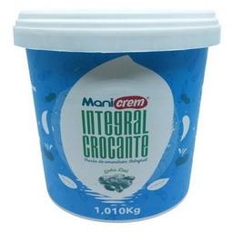 Pasta de Amendoim Crocante 1kg  - Integral Mani Crem