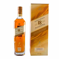 Whisky Johnnie Walker Gold Ultimate 18 Anos 750ml