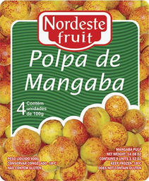 Polpa de Mangaba Nordeste Fruit - 400g