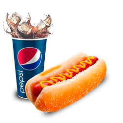 Hot dog Tradicional+ Refrigerante  250ML