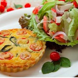 Quiche + Salada