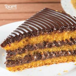 Torta de Cenoura - Fatia
